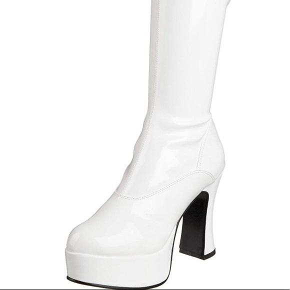 f38f416f8c1 Women's White Gogo Boots✨